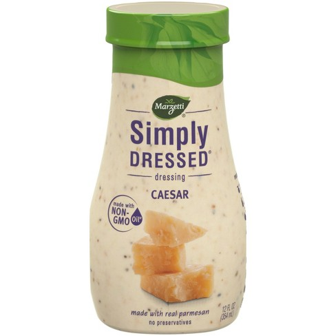 Marzetti Simply Dressed All Natural Caesar Dressing - 12oz - image 1 of 3