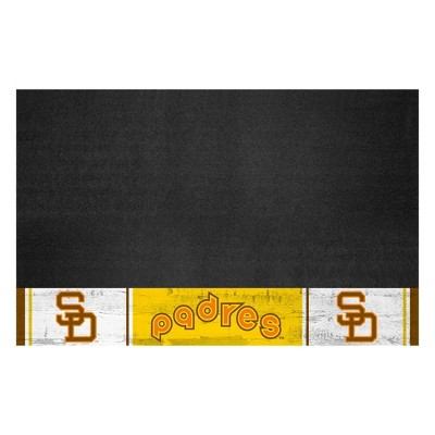 """MLB San Diego Padres 1969 Retro Collection 26""""x42"""" Grill Mat"""