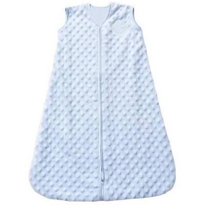Halo Sleepsack Velboa Pushy Dots Wearable Blanket - Blue L