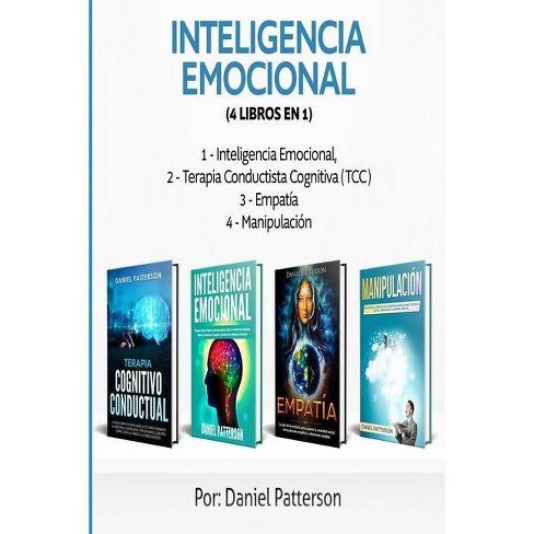 Inteligencia Emocional (4 libros en 1) - by  Daniel Patterson (Paperback) - image 1 of 1