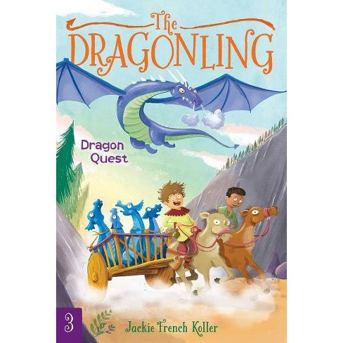 Dragon Quest - (Dragonling) by  Jackie French Koller (Hardcover) - image 1 of 1