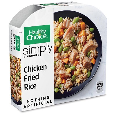 Healthy Choice Simply Steamers Frozen Chicken Fried Rice - 10oz