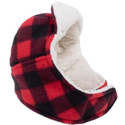 The Worthy Dog Sherpa Fleece Lined Aviator Dog Hat
