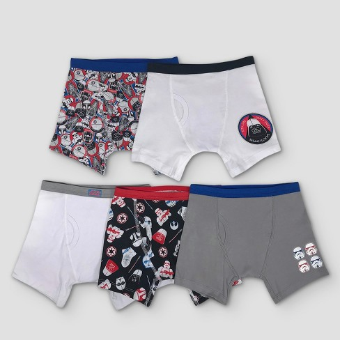 Boys' Star Wars 5pk Boxer Briefs - image 1 of 2