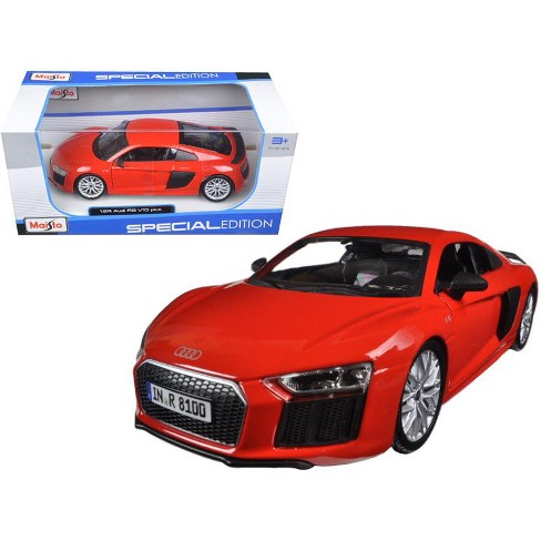 Audi R8 V10 Plus Red Special Edition 1 24 Diecast Target