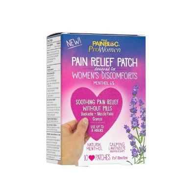 PainBloc24 Women's Pain Relief Patch for Discomfort - 10ct
