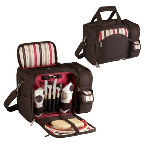 Picnic Time 16pc Malibu Picnic Bag - Brown - image 1 of 5