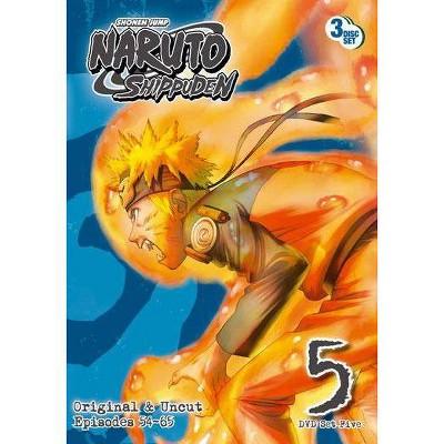 Naruto Shippuden: Box Set 5 (DVD)(2011)