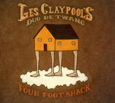 Les' duo d claypool - Four foot shack (CD) - image 1 of 1