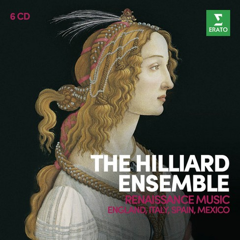 Hilliard ensemble - Renaissance music:England italy spain (CD) - image 1 of 1