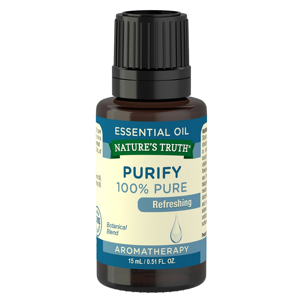 Natures Truth Purify Essential Oil - 15ml, Clear