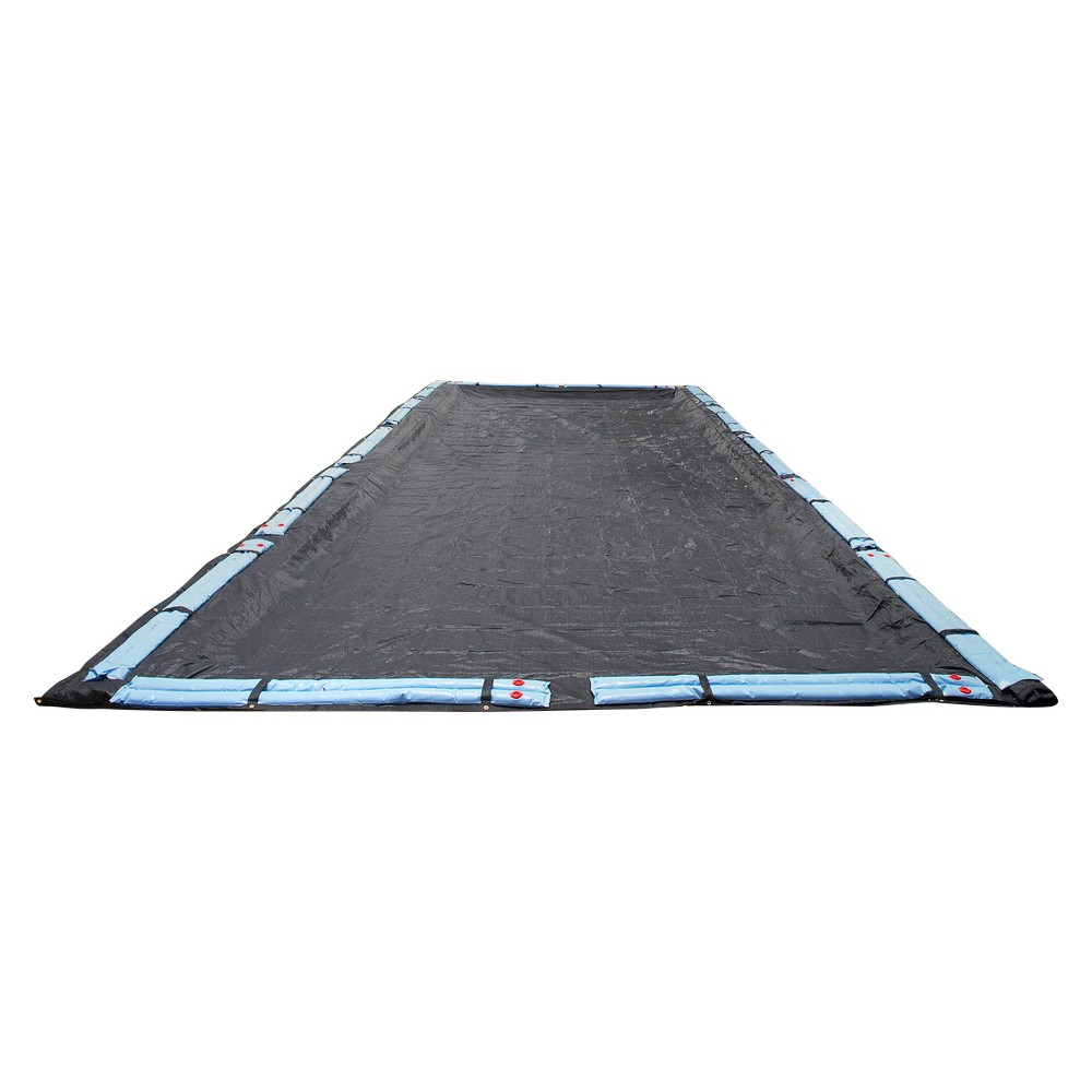 Blue Wave 20-ft x 40-ft Rect. Rugged Mesh In-Ground Pool Winter Cover, Multicolored