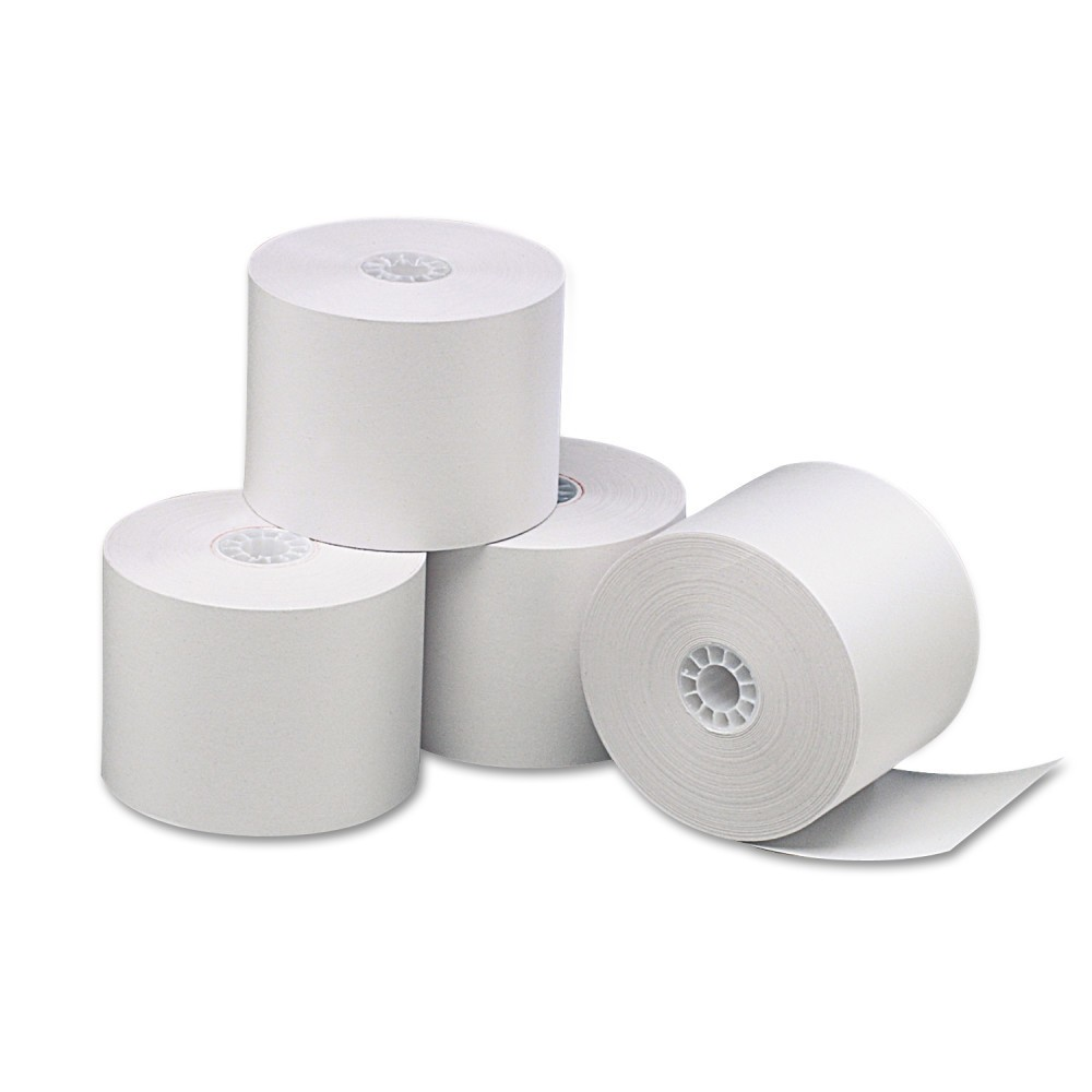 Universal Single-Ply Thermal Paper Rolls, 2 1/4x85', White, 3pk (35761)