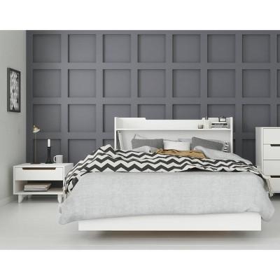 3pc Full Snooze Bedroom Set White - Nexera