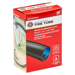 "Schwinn 20"" Self-Sealing Bike Tire Tube"
