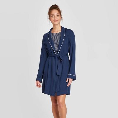 Women's Beautifully Soft Robe - Stars Above™ Navy XL/XXL