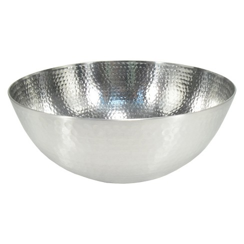 Hammered Aluminum Serving Bowl - Threshold™ - image 1 of 2