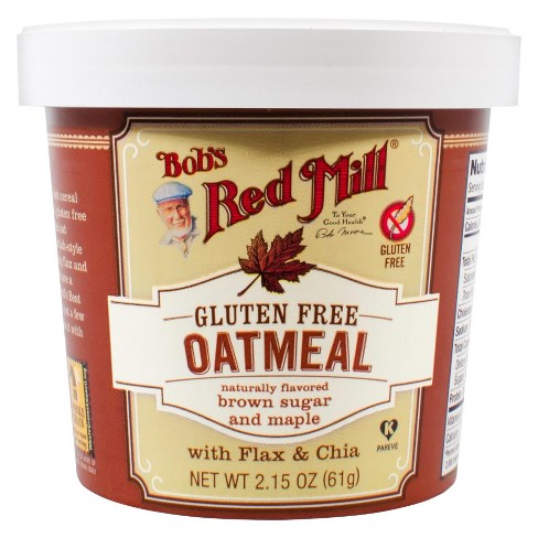 Bob's Red Mill Gluten Free Brown Sugar and Maple Oatmeal - 2.15oz - image 1 of 1