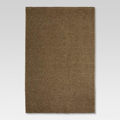 "6'6""x10' Eyelash Shag Area Rug Tan - Threshold™"
