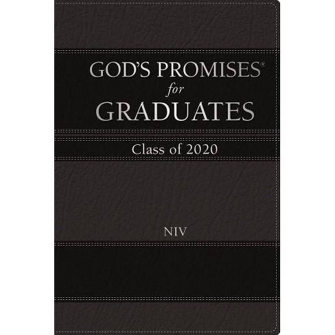 God's Promises for Graduates: Class of 2020 - Black NIV - (God's Promises(r)) by  Jack Countryman - image 1 of 1