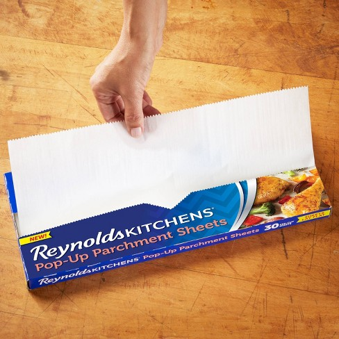 Reynolds 30 Foot Roll of Kitchen Parchment Paper Set of 3