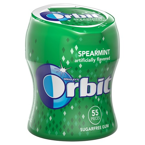 Orbit Spearmint Sugarfree Gum - 55ct - image 1 of 2