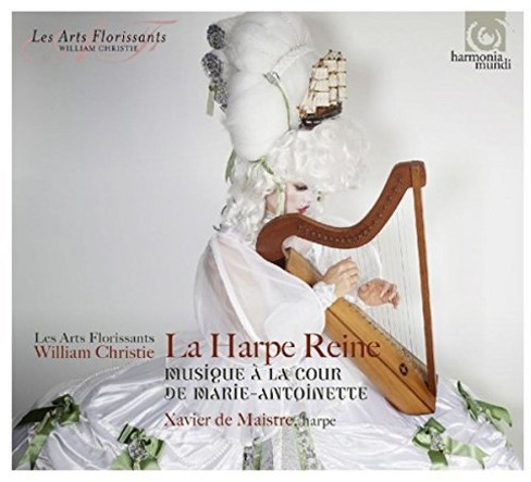 Les Arts Florissants - La Harpe Reine:Music/Marie Antoinette (CD) - image 1 of 1