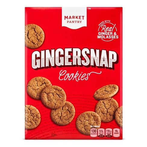 Ginger Snap Cookies 12oz Market Pantry