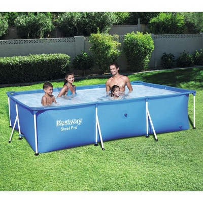Above ground swimming pool Affordable Bestway Steel Pro 102 67 24 Target Bestway Steel Pro 102 67 24
