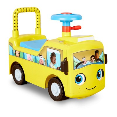 Little Tikes Baby Bum Wheels on the Bus Scoot Pedal and Push Riding Toys