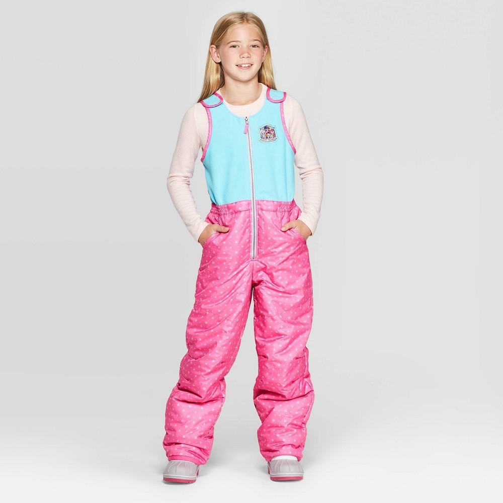 Image of Girls' My Little Pony Snow Bib - Pink/Blue M, Girl's, Size: Medium