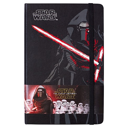 "Moleskine® Star Wars™ Notebook, Hard Cover, College Ruled, 240 sheets, 5"" x 8"" - Kylo Ren - image 1 of 1"