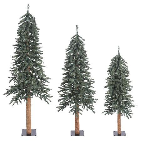 Vickerman Natural Bark Alpine Artificial Christmas Tree - image 1 of 3