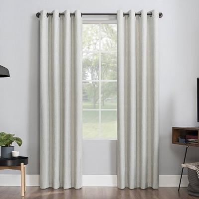 Noir Dimensional Thermal Extreme 100% Blackout Grommet Curtain Panel - Sun Zero