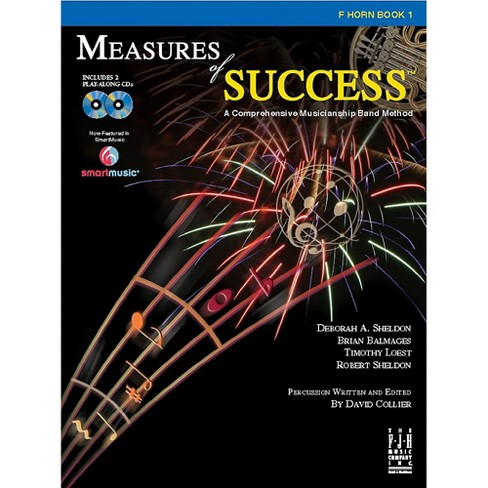 FJH Music Measures of Success F Horn Book 1 - image 1 of 1