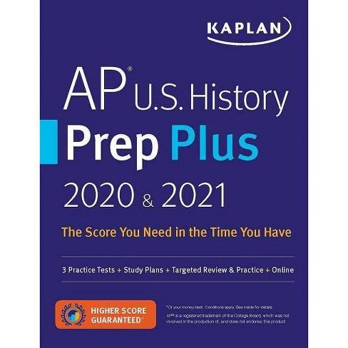AP U.S. History Prep Plus 2020 & 2021 - (Kaplan Test Prep) (Paperback) - image 1 of 1