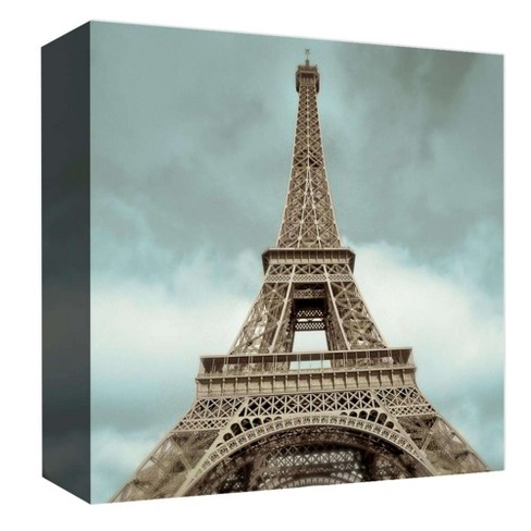 "Tour Eiffel Decorative Canvas Wall Art 16""x16"" - PTM Images - image 1 of 1"