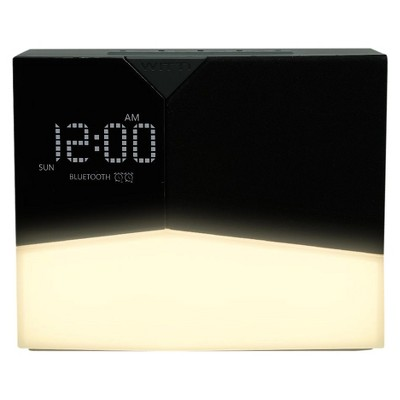 BEDDI Glow Intelligent Alarm Clock with Wakeup Light Black - WITTI®