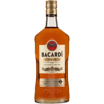 Bacardi Gold Rum - 1.75L Bottle