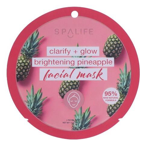 SpaLife PH Balancing Face Mask Pineapple - 0.81oz - image 1 of 3