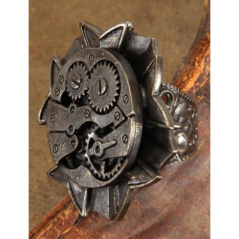 Elope Steampunk Antique Watch Gears Costume Ring Adult - image 1 of 1