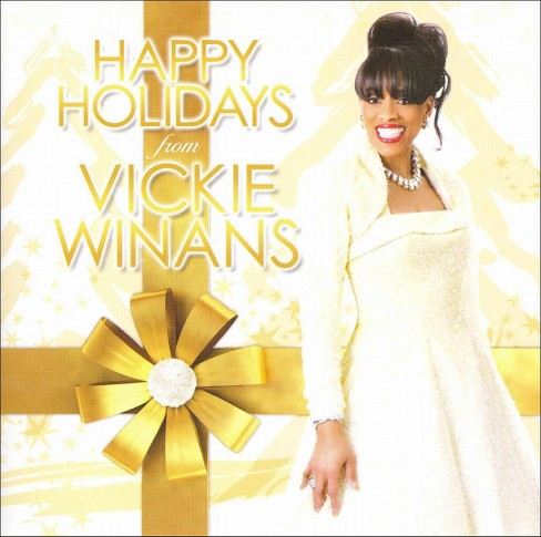 Vickie winans - Happy holidays from vickie winans (CD) - image 1 of 1
