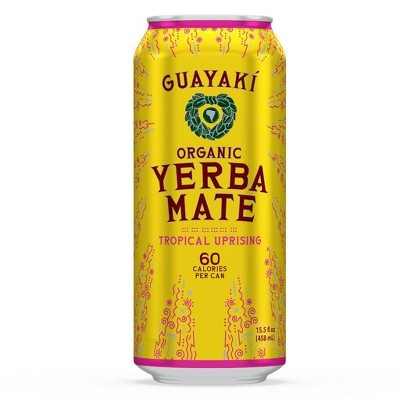 Guayaki Yerba Mate Tropical Uprising - 15.5 fl oz Can