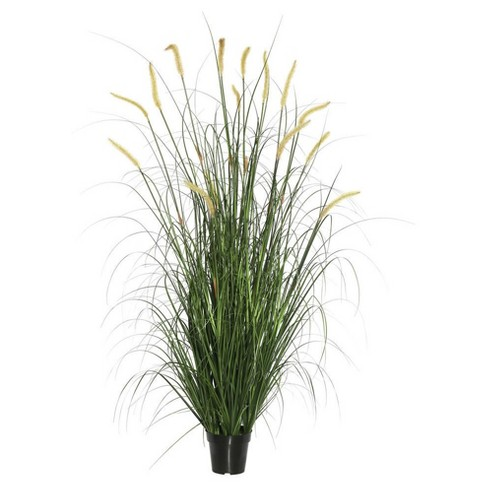 "Artificial Grass Plant (24"") Green - Vickerman - image 1 of 1"