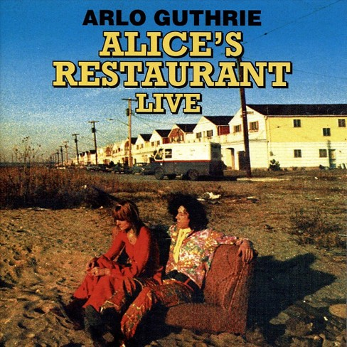 Arlo guthrie - Alice's restaurant live (CD) - image 1 of 1