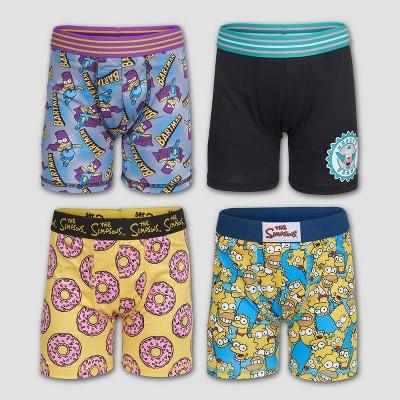 Boys' Disney The Simpson 4pk Underwear