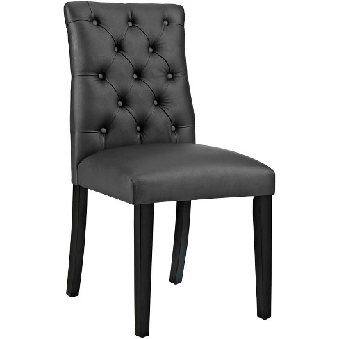 Duchess Vinyl Dining Chair - Modway - image 1 of 4