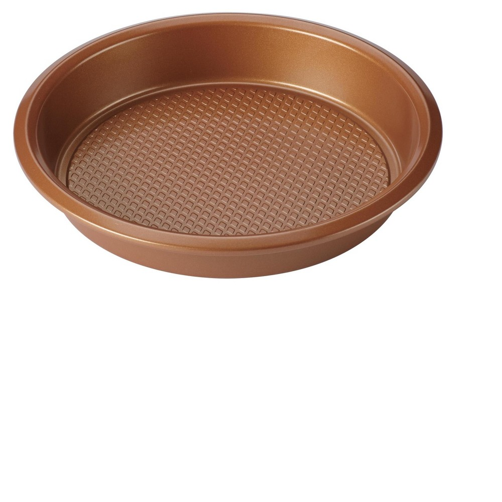 Image of Ayesha Curry 9 Bakeware Round Cake Pan Copper (Brown)
