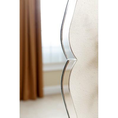 Culpo Rectangle Wall Mirror Silver - Abbyson Living : Target