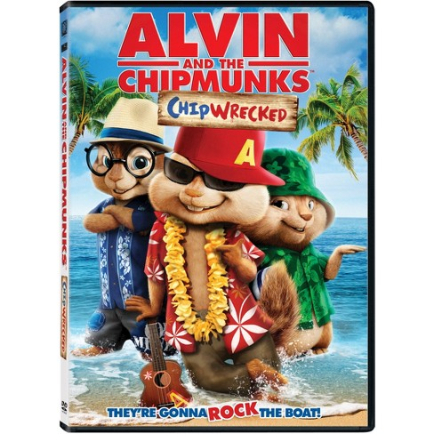 Alvin And The Chipmunks Chipwrecked Dvd Video Target